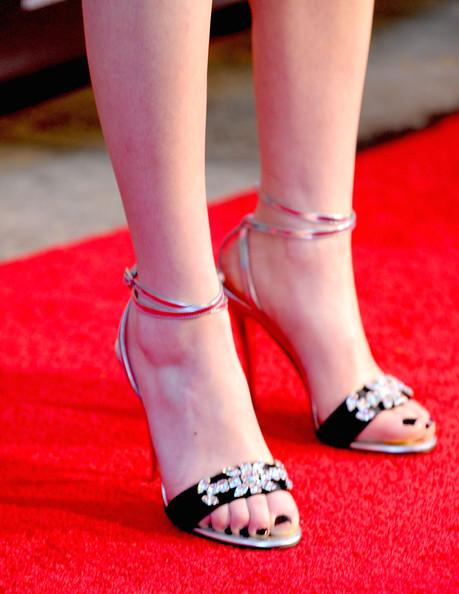 Звездная обувь Миранды Косгроув