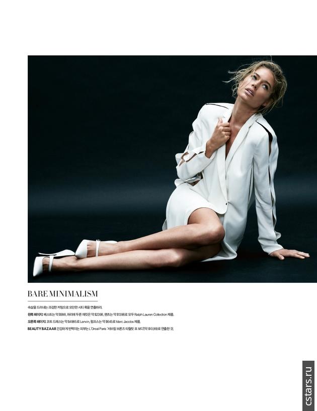 Даутцен Крус для журнала Harper's Bazaar Korea