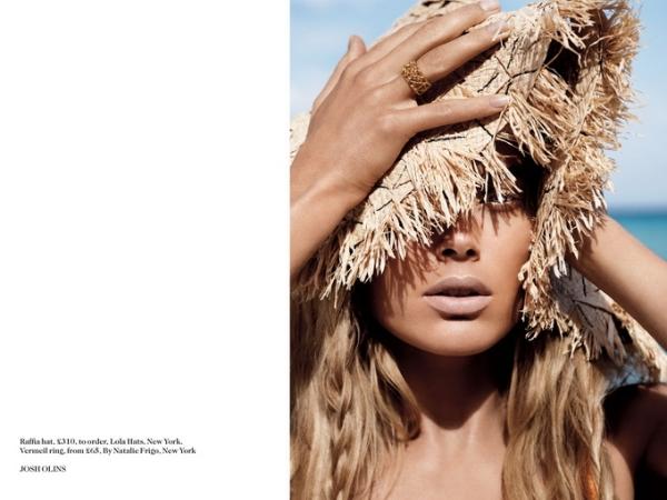 Даутцен Крус для Vogue UK