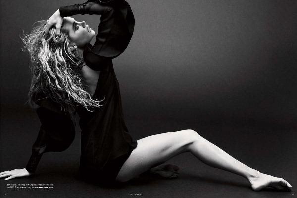 Даутцен Крус для Vogue Germany