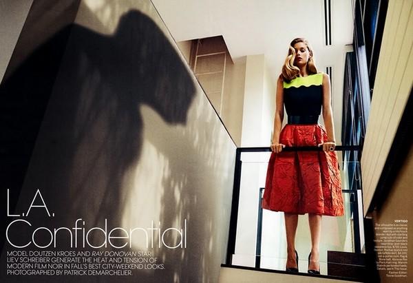 Даутцен Крус для Vogue US, ноябрь 2013