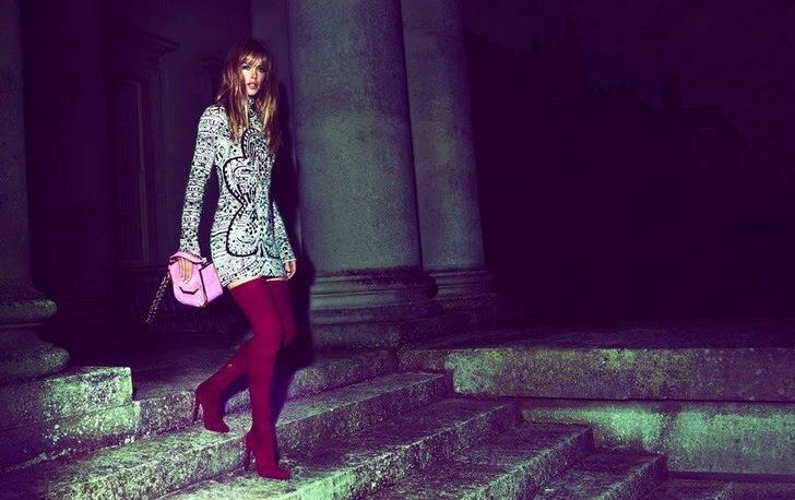Даутсен Крус в рекламной кампании осенне-зимней коллекции EMILIO PUCCI F/W 13.14