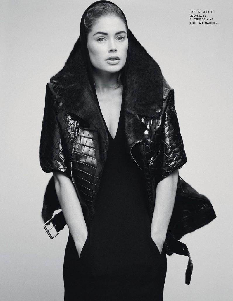 Даутцен Крус в фотосессии Томаса Уайтсайда для журнала Elle France, август 2013