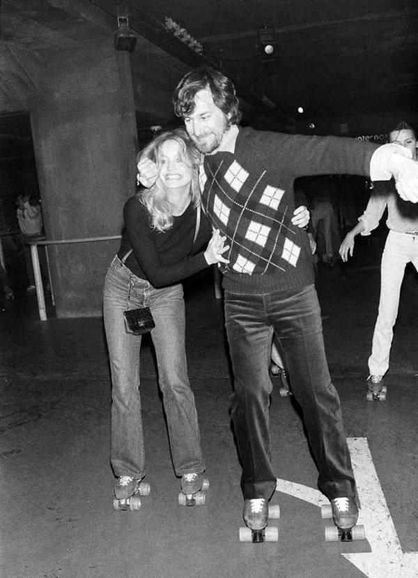 Стивен Спилберг и Голди Хоун, 1980 год