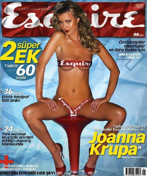 Джоанна Крупа на обложках журналов