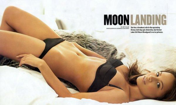 Мун Блудгуд в журнале Maxim