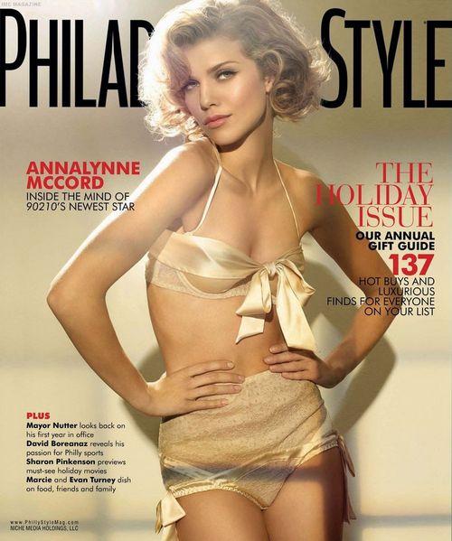 Анна-Линн Маккорд на обложках журналов