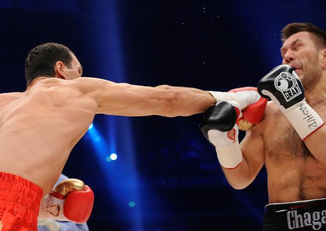 Руслан Чагаев на ринге
