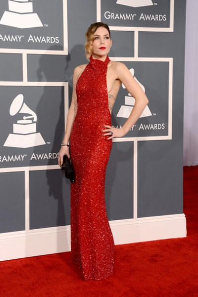 Лучшие платья звезд на вручении «Грэмми 2013»