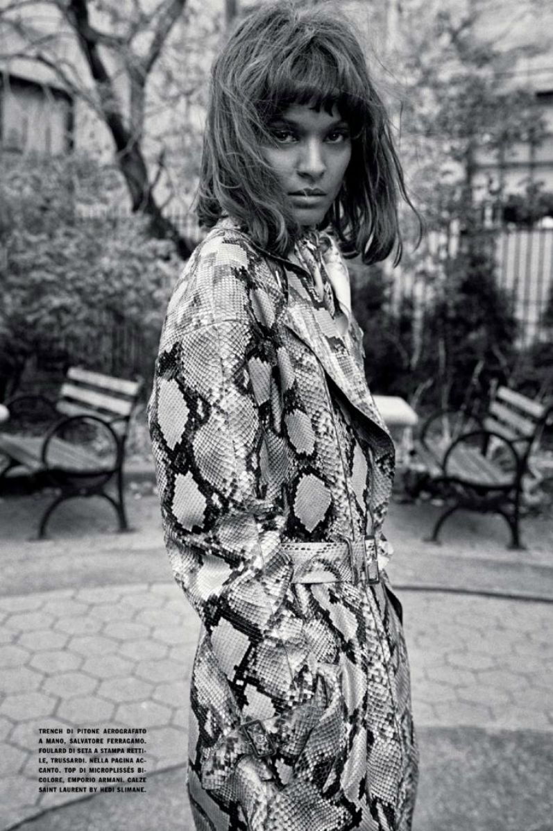 Лия Кебеде для Vogue Italia, январь 2014