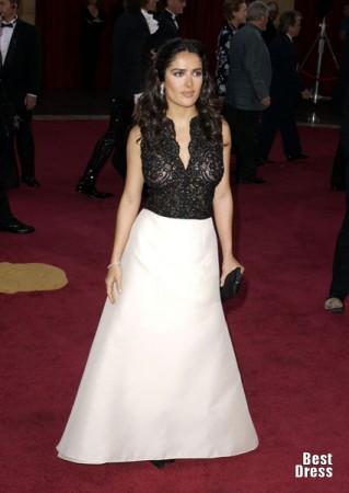 сальма хайек в платье фото