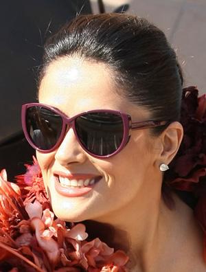 Сальма Хайек и ее солнцезащитные очки
