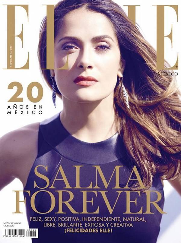 Сальма Хайек для Elle Mexico, сентябрь 2014