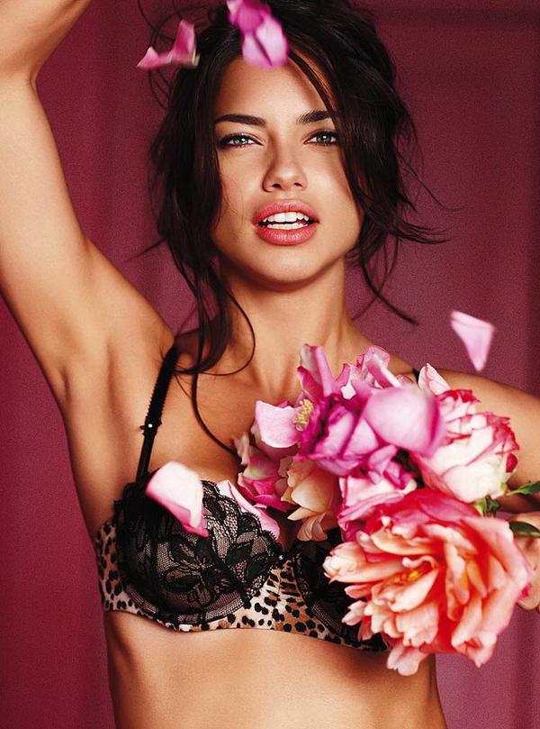 Адриана Лима для Victorias Secret