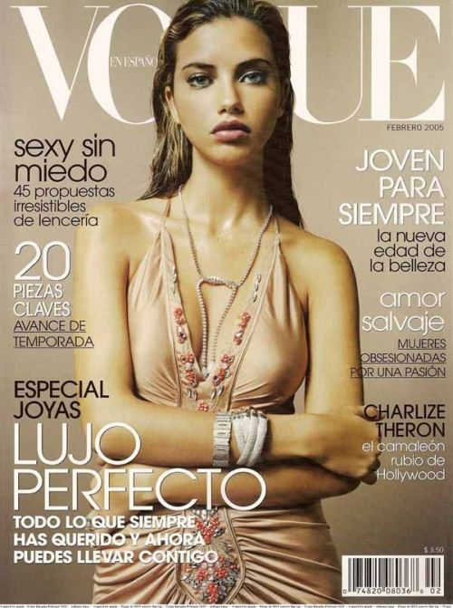 Адриана Лима на обложках журналов