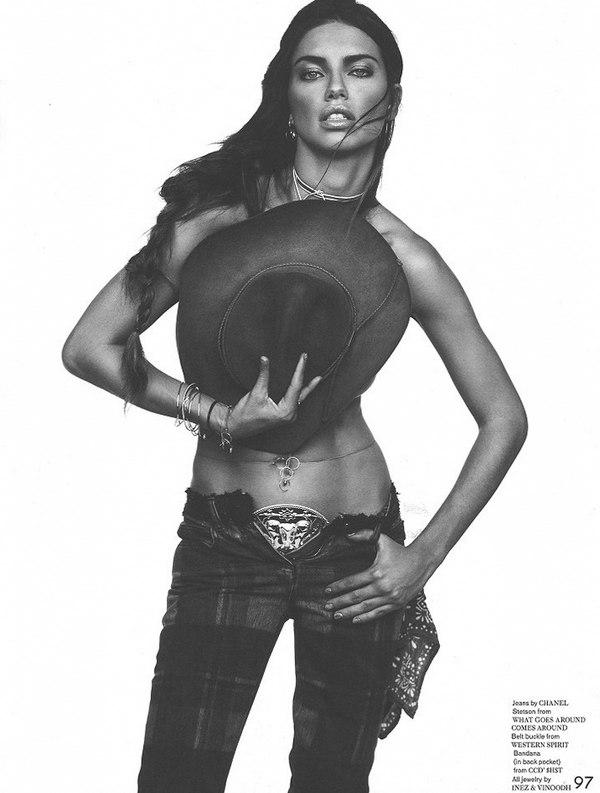 Адриана Лима для Garage, 2013
