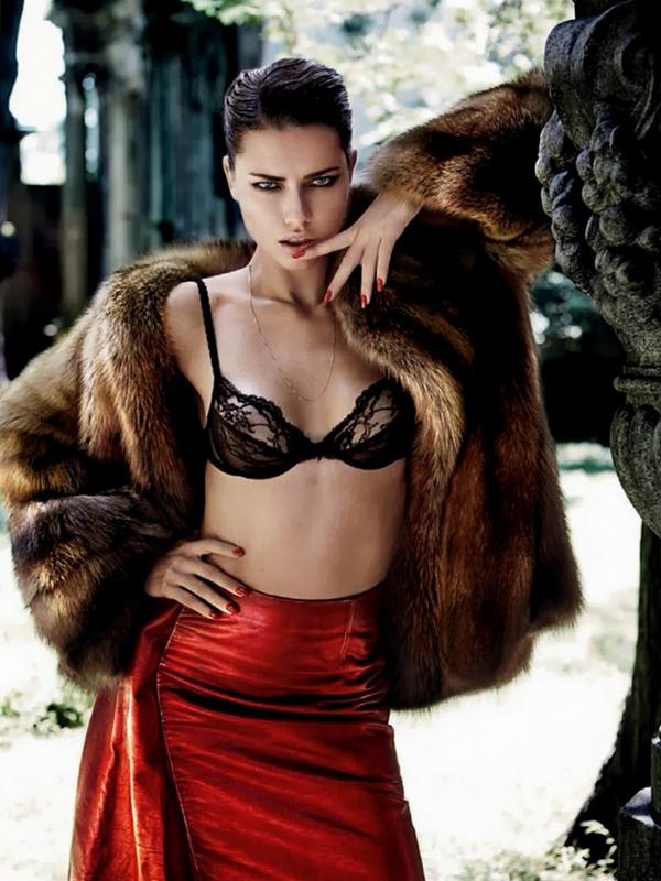 Адриана Лима для Vogue Brazil, октябрь 2013