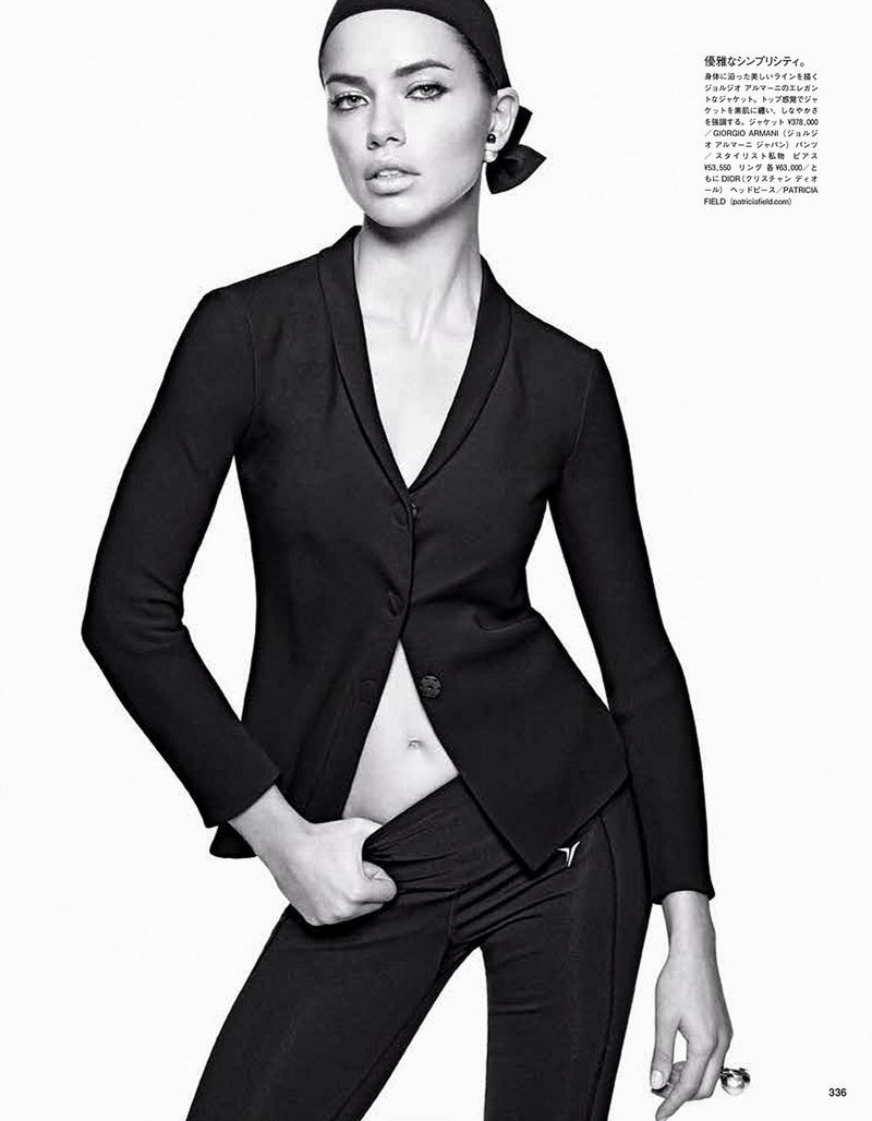 Адриана Лима для Vogue Japan, апрель 2014