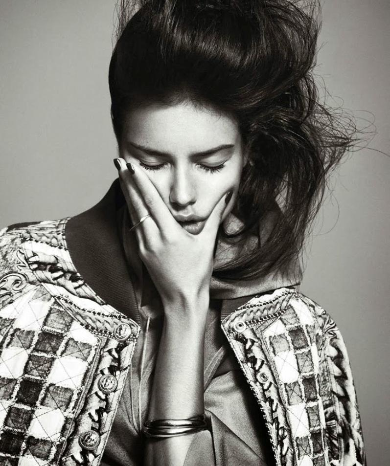 Адриана Лима для Harper's Bazaar, февраль 2014