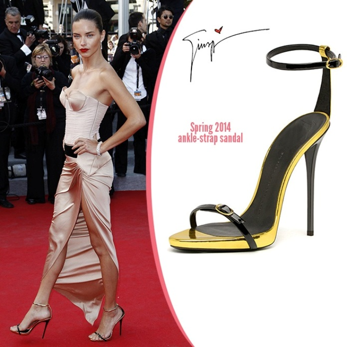 Звездная обувь Адрианы Лимы