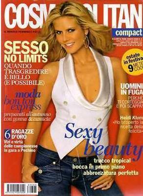 Хайди Клум на обложках журналов