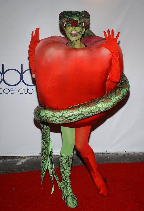 Костюмы Хайди Клум на Хэллоуин