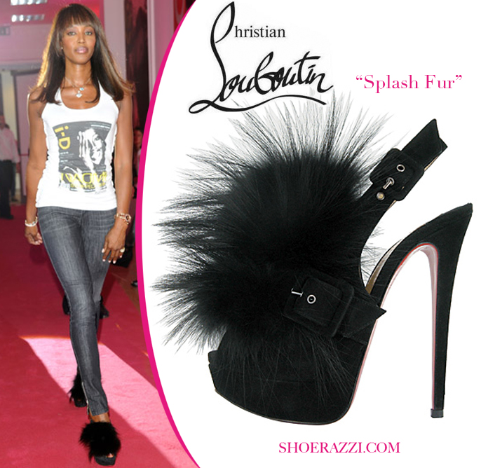 Звездная обувь Наоми Кэмпбелл