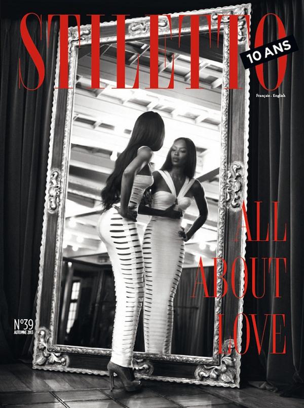 Наоми Кэмпбелл для Stiletto, осень 2013