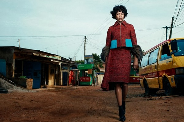 Наоми Кэмпбелл для W Magazine, 2013