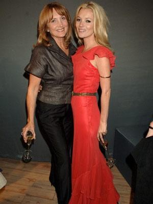 Кейт Мосс с мамой Линдой