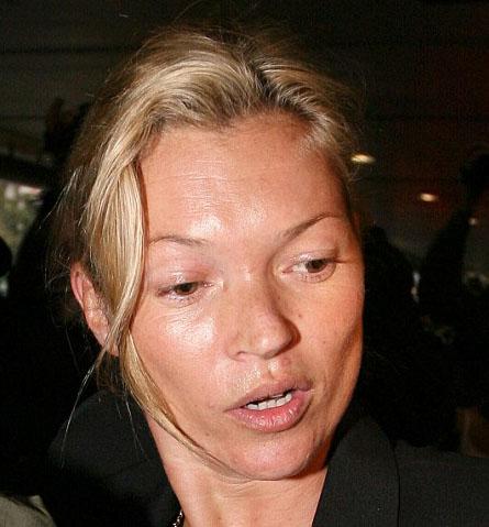 Кейт Мосс без макияжа!