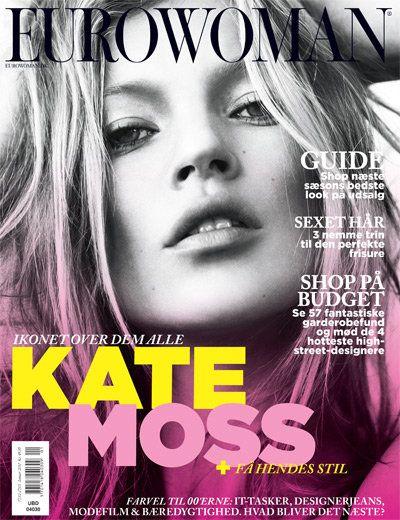 Кейт Мосс на обложках журналов