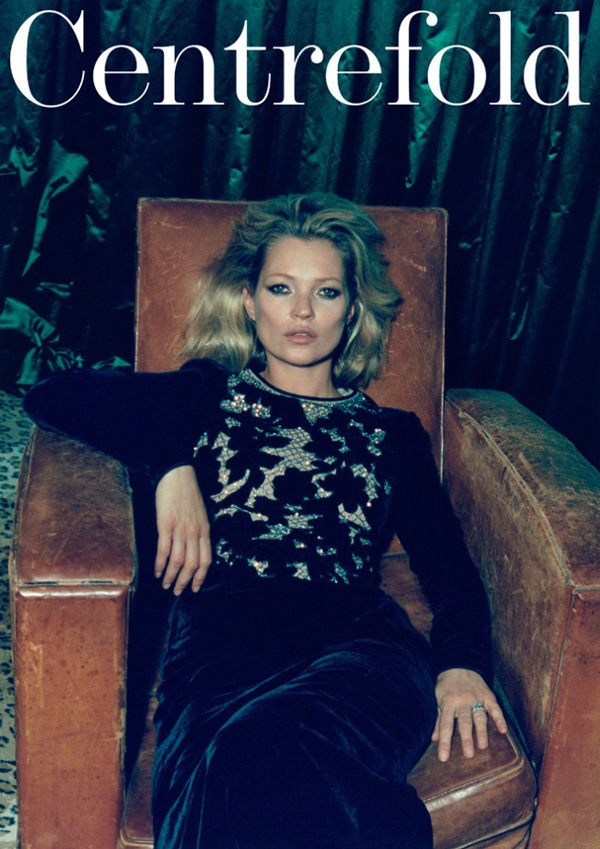 Кейт Мосс в Centrefold Magazine