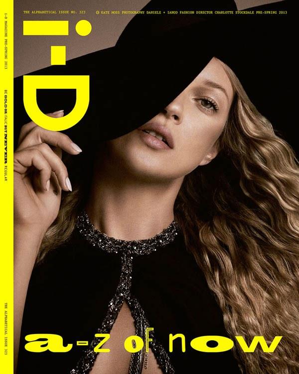 Кейт Мосс для i-D Magazine