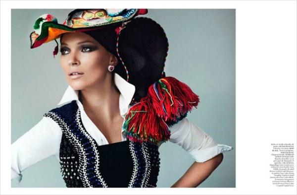 Кейт Мосс для Vogue Paris