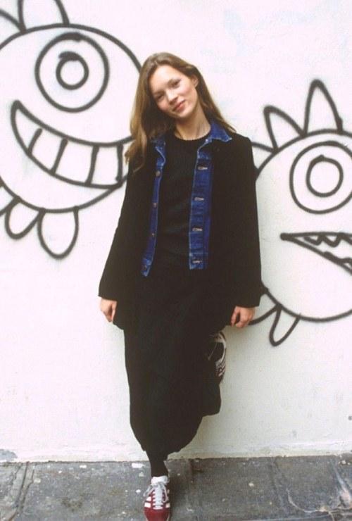 Кейт Мосс в детстве и юности