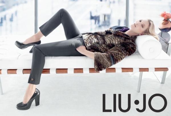 Кейт Мосс в осенней рекламной кампании Liu Jo 2013