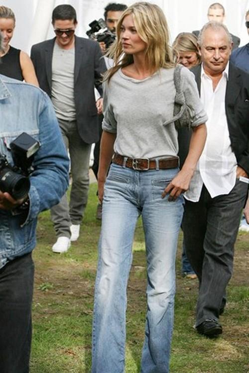 Эволюция стиля Кейт Мосс