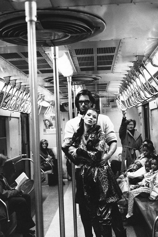 Первая профессиональная фотосессия Кейт Мосс, 1992 год