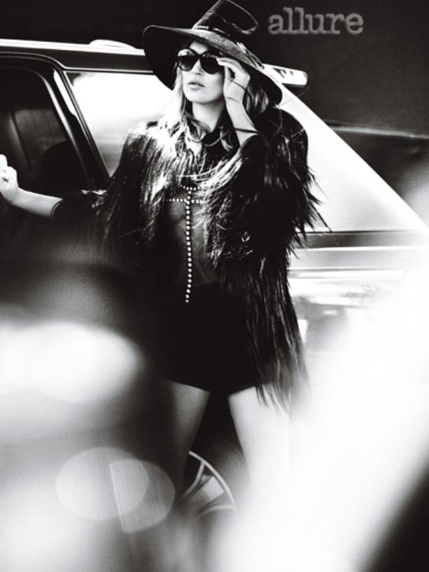 Кейт Мосс для журнала ALLURE, август 2013