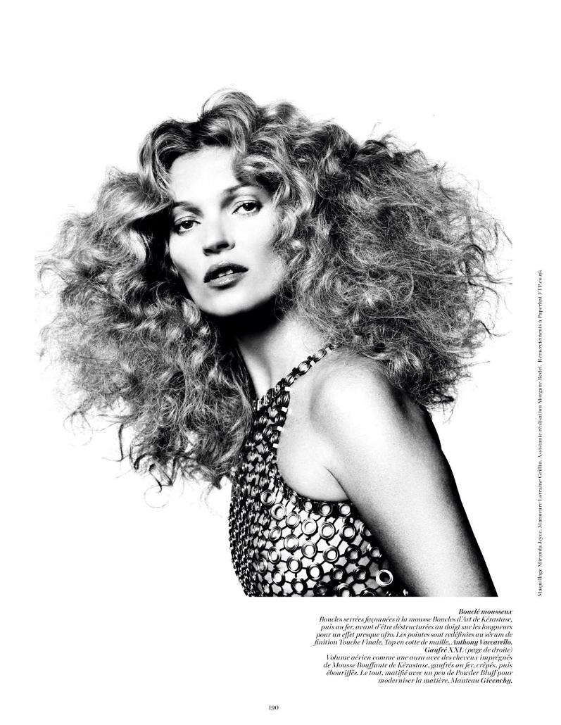 Кейт Мосс для журнала VOGUE Paris, август 2013