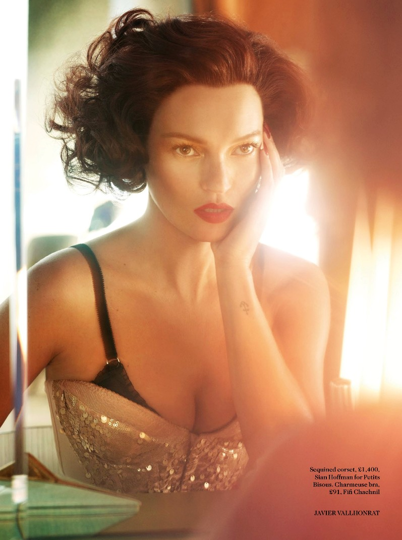 Кейт Мосс для журнала Vogue UK, октябрь 2013