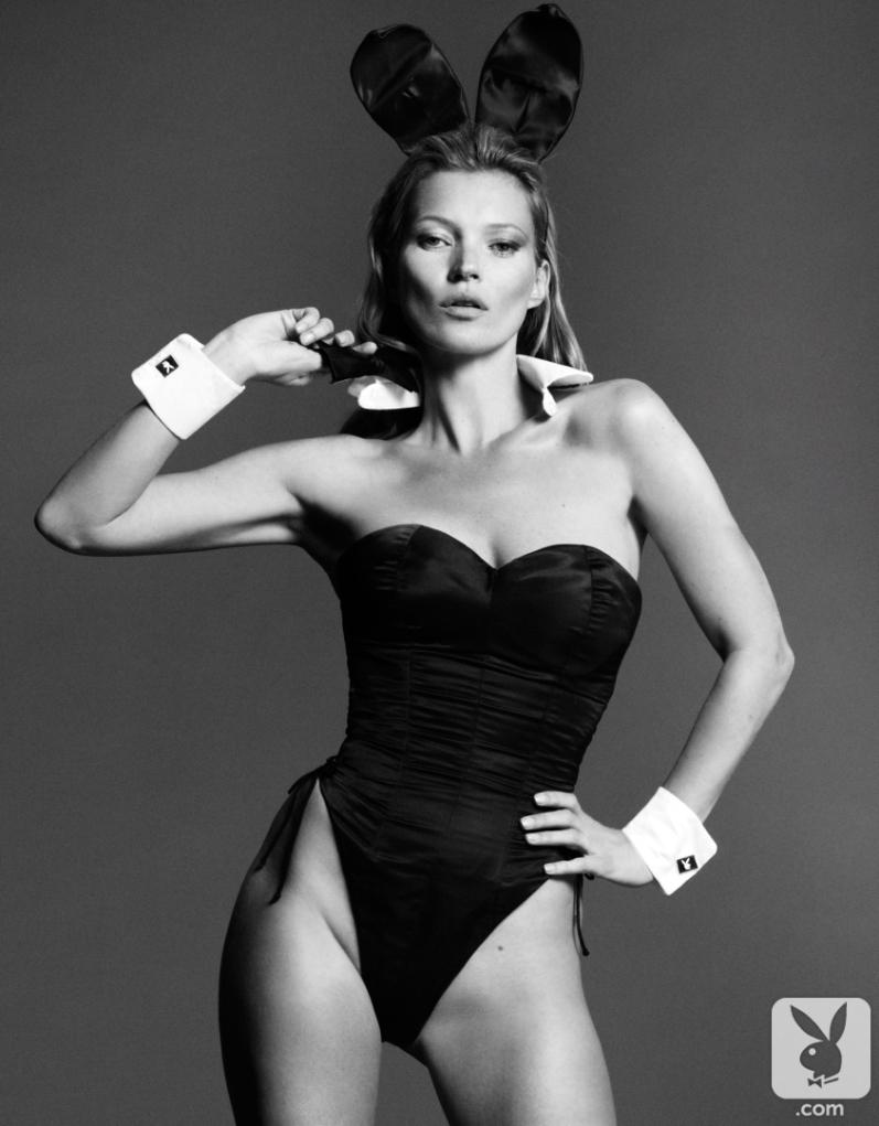 Кейт Мосс в фотосессии Mert & Marcus для Playboy Magazine, январь 2014