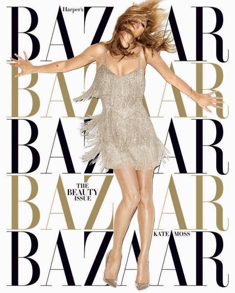 Кейт Мосс для HARPER'S BAZAAR US, май 2014