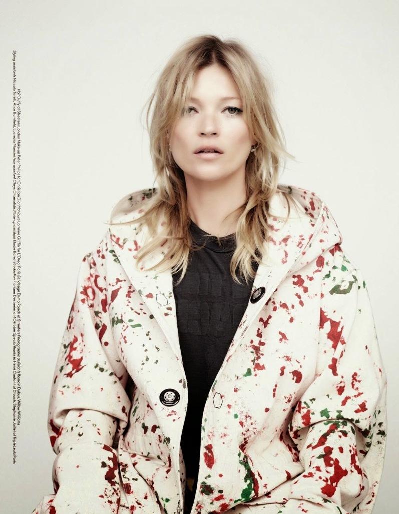 Кейт Мосс для Another Magazine, осень-зима 2014