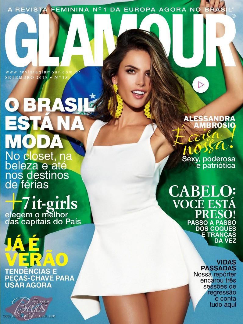Алессандра Амброзио для журнала GLAMOUR Brazil, сентябрь 2013