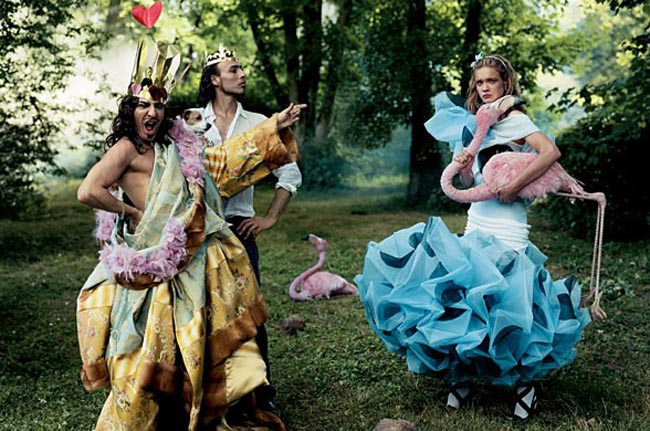 Наталья Водянова: сьемки для Vogue