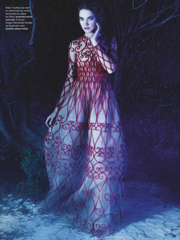 Наталья Водянова для Numero