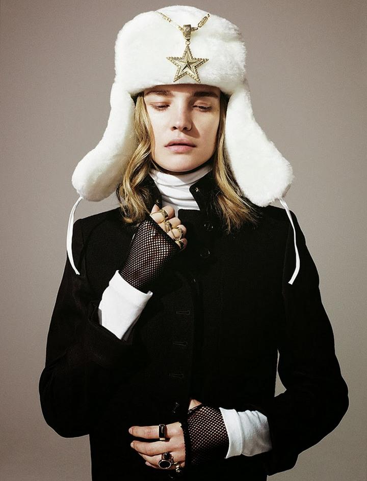 Наталья Водянова для Madame Figaro, декабрь 2013