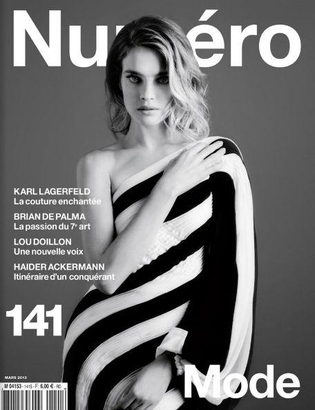 Наталья Водянова на обложках журналов